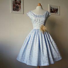 My new Carol cotton dress handmade with love