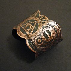 Etched Copper Cuff  Alchemical Symbols  Custom von jamiespinello, $55,00