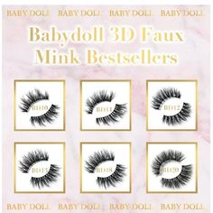 Baby Doll - The Ultimate Lashes for every occasion Types Of Eyes, False Lashes, All About Eyes, Mink, Best Sellers, Baby Dolls, Gallery Wall, Instagram, Shop