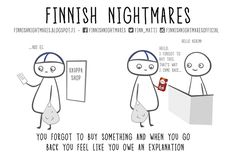 51 Finnish Nightmares That Every Introvert Will Relate To A Funny, Hilarious, Lost Love, Cheer Up, Talking To You, Introvert, Comebacks, Like You, Fun Facts