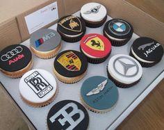 Car logo cupcakes - Cake by jameela