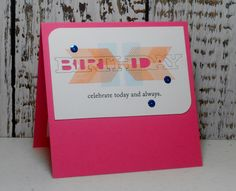 birthday card Free Printable Birthday Cards, Free Printables, I Card, Creative, Tags
