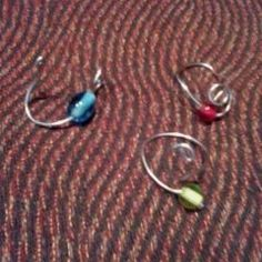 Easy Wire And Bead Ring
