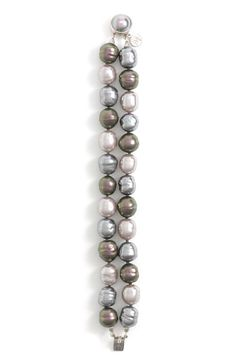 Majorica 12mm Baroque Pearl Double Strand Bracelet   Nordstrom