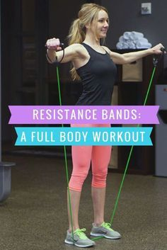 Effective resistance band workouts for full body tone up. Learn what exercises you can do at home or in the gym to tone the entire body using DynaPro bands.