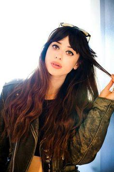 Louisa Rose Allen / foxes / bangs