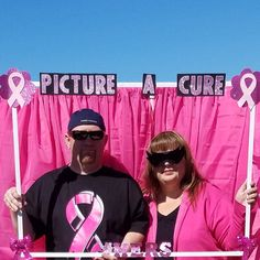 Breast Cancer Awareness Photo Booth Props