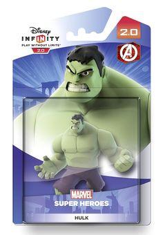 Disney Infinity 2.0 Hulk Figure (Xbox One/360/PS4/Nintendo Wii U/PS3): Amazon.co.uk: £15