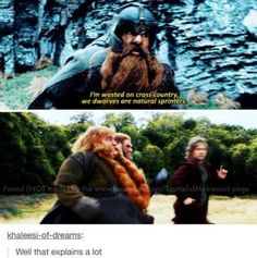 """I love how Bilbo is looking at Bombour like """"What am I looking at? Is that Bombour???"""""""