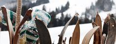 Skifahren im Salzburger Land. #Holzski #Nostalgie
