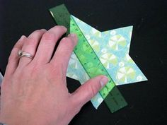 How to make 3-D stars - use cardstock to add to many craft projects or use cardboard and paint for an inexpensive barn star...MUCH cheaper than the metal ones!
