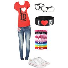 This is like the best outfit to wear every day, im just a directioner I love them with all my heart:)