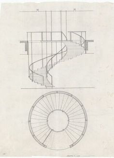 Arne Jacobsen, stairway of SAS Royal Hotel, Denmark…. Arne Jacobsen, stairway of SAS Royal Hotel, Denmark…. Detail Architecture, Stairs Architecture, Architecture Drawings, Modern Architecture, Arne Jacobsen, Staircase Drawing, Staircase Design, Spiral Staircase Plan, How To Draw Stairs