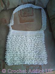 Ravelry: Ruffle Bag pattern by Crochet AddictUK