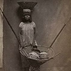 Pima Indian Basket Weaver 1900