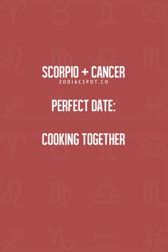 Scorpio and cancer love compatibility 2018