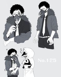Mimic is soooo cuteeee! ❤ Boku no Hero Academia || Overhaul/Chisaki || Chronostasis || Mimic.