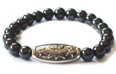 Men's Bracelet Men's Beaded Bracelet Men's by Michelleshandcrafted, £15.00