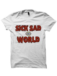 SICK SAD WORLD T-SHIRT DARIA SHIRT DARIA SHOW COOL GIFTS GREAT GIFTS FOR TEENS…