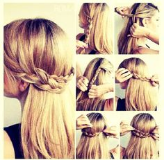 Easy Quick Hair Do