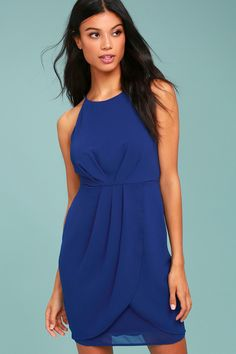 Best Wishes Royal Blue Dress