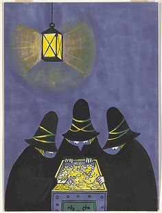 The Three Robbers // Tomi Ungerer
