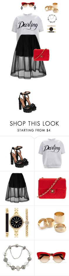 """""""863"""" by julialeskiv ❤ liked on Polyvore featuring Alaïa, N°21, Simone Rocha, Chanel, Style & Co., H&M, Chicnova Fashion, Dolce&Gabbana and Ermanno Scervino"""