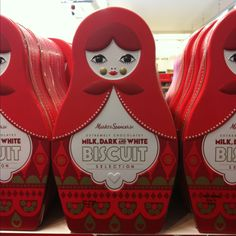 Russian dolls biscuits!