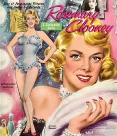 Rosemary Clooney paper dolls.