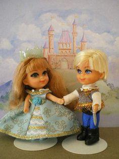 Liddle Kiddle OOAK Prince Princess of Kiddlestonia Darling Couple | eBay