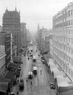 Elizabeth St, Melbourne 1916