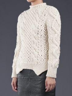 YIGAL AZROUEL - Duo knit sweater 3