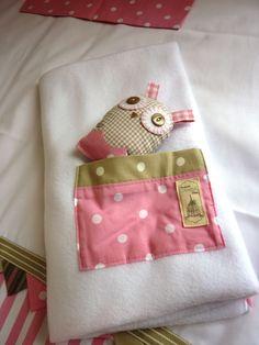 Owl fleece by Zhoozsh linen
