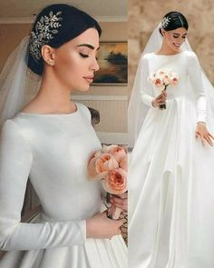The Bridal Fashion Week for 2019 has come and gone, and it did not disappoint. White Wedding Gowns, Beautiful Wedding Gowns, Wedding Dresses, Wedding Corset, Bridesmaid Gowns, Beautiful Bride, Lace Wedding, Bohemian Style Dresses, Bohemian Bride