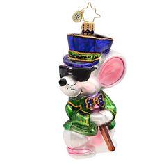 Christopher Radko Mischievous Mouse Ornament