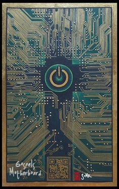 The Gospels Motherboard by somk.deviantart.com on @DeviantArt