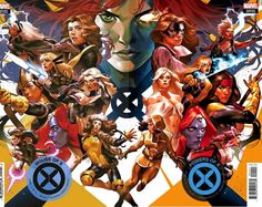 I've been working on completing a handful of cover sets to add to the site. First up are connecting cover sets for House of X/Powers of X from Mark Brooks ( Yasmine Putri ( Jorge Molina ( David Nakayama ( & Javier Garron ( Marvel Comics Art, Marvel Comic Universe, Marvel X, Disney Marvel, Comic Book Covers, Comic Books Art, Comic Art, Mr Sinister, Art Basics