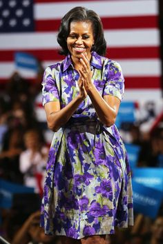 On the campaign trail in Miami  November 2012