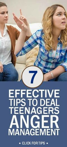 7 Effective Tips to Help With Anger Management In Teenagers #drrobyn #teenagers #parenting