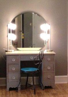 vanity desk lights