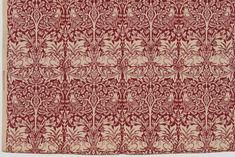 William Morris. Rabbit Pattern Printed Fabric (no. 23583). c. 1938