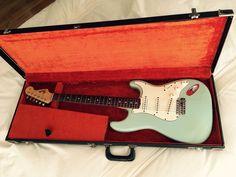 RARE Vintage 1965 Fender Stratocaster Sonic Blue
