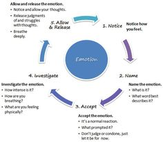 Mindfulness and emotions cycle