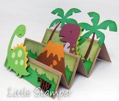 51 Ideas Birthday Card Craft For Kids Projects Birthday Card Pop Up, Birthday Cards For Boys, Diy Birthday, Birthday Ideas, Dinosaur Birthday, Scrapbooking 3d, Diy For Kids, Crafts For Kids, Tarjetas Diy