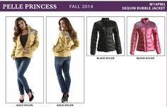 New Arrival Ladies Pelle Pelle Princess Collection Ruffle Raw-Edge ...