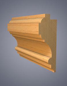 Dado Timber Mouldings, Wood Molding, Moldings, Wooden Door Design, Wooden Doors, Architrave Door, Bedroom Decor Dark, Oak Handrail, Wood