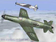 """Dornier Do 335 V3 """"Pfeil"""" (arrow), heavy fighter. . ."""