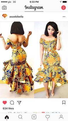 African fashion is available in a wide range of style and design. Whether it is men African fashion or women African fashion, you will notice. African Inspired Fashion, African Print Fashion, Africa Fashion, African Attire, African Wear, African Women, African Style, Latest Ankara Dresses, Ankara Gown Styles