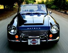 SR20-powered Datsun Roadster, dream vintage car, one day I will have one!