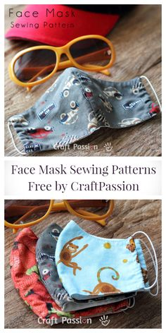 DIY Fabric Face Mask Free Sewing Patterns & Paid+ Video – Fabric Art DIY mask diy mask filter mask free printable mask homemade mask how to make one mask pattern Sewing Patterns Free, Free Sewing, Free Pattern, Sewing Diy, Fabric Patterns, Easy Knitting Projects, Sewing Projects, Diy Couture, Fabric Art